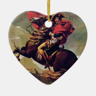 Napoleon Ceramic Heart Ornament