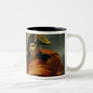 Napoleon  Crossing the Alps 2 Two-Tone Coffee Mug