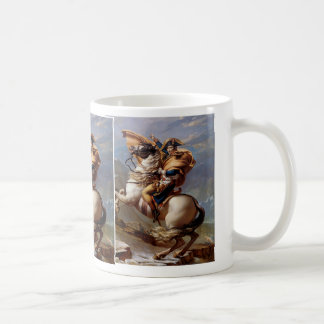 Napoleon Crossing the Alps by David Coffee Mug