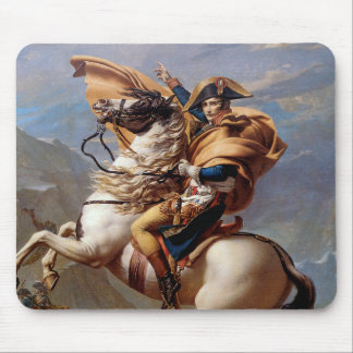 Napoleon Crossing the Alps by David Mouse Pad