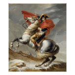 Napoleon Crossing the Alps - Jacques-Louis David Posters