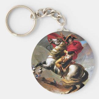 Napoleon Crossing the Alps Key Chain