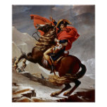 Napoleon Crossing the Alps Posters