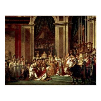 Napoleon Crowned Empress Josephine By David Jacque Postcard