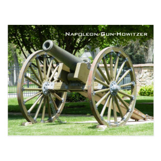 Napoleon Gun-Howitzer Post Card