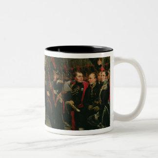 Napoleon I  Bidding Farewell to the Imperial Two-Tone Coffee Mug