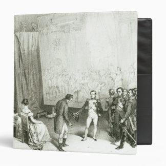 Napoleon I  Visiting the Studio of David Vinyl Binder