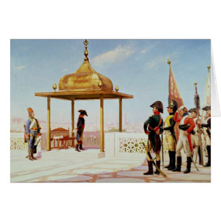 Napoleon in Cairo, 1798 Card