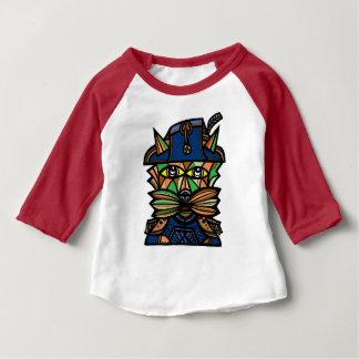 """Napoleon Kat"" Baby 3/4 Raglan T-Shirt"
