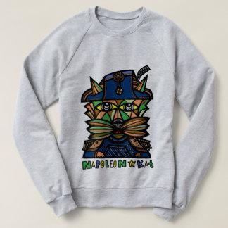 """""""Napoleon Kat"""" Men's Raglan Sweatshirt"""