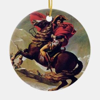 Napoleon Round Ceramic Ornament