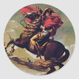 Napoleon Round Sticker