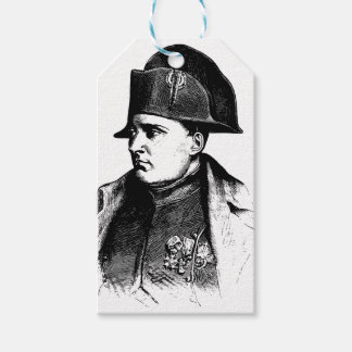 Napoleon Silhouette Gift Tags