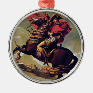 Napoleon Silver-Colored Round Ornament