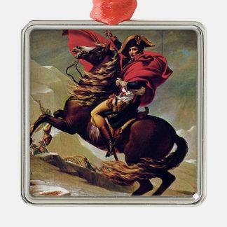 Napoleon Silver-Colored Square Ornament