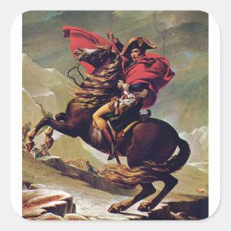 Napoleon Square Sticker