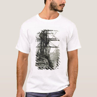 Napoleon surrendering to Captain Maitland T-Shirt