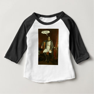 Napoleon Thinks About Porcupines Baby T-Shirt