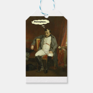 Napoleon Thinks About Porcupines Gift Tags