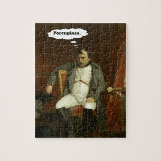 Napoleon Thinks About Porcupines Jigsaw Puzzle