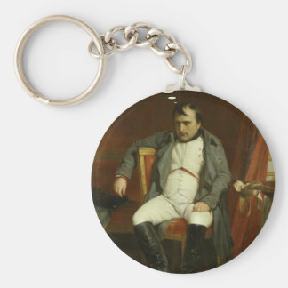 Napoleon Thinks About Porcupines Keychain