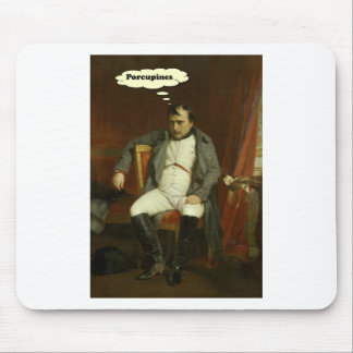 Napoleon Thinks About Porcupines Mouse Pad