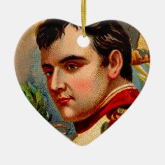 Napoleon Vintage Ceramic Ornament