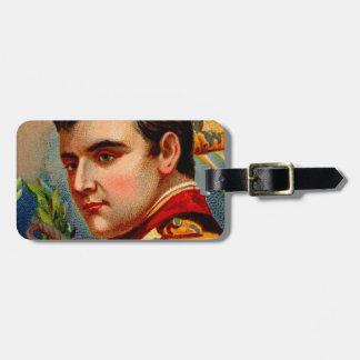 Napoleon Vintage Luggage Tag