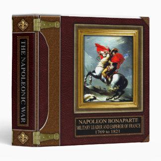 Napoleonic War Research Binder