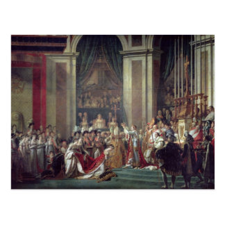 Napoleon's Consecration and Josephine's Postcard