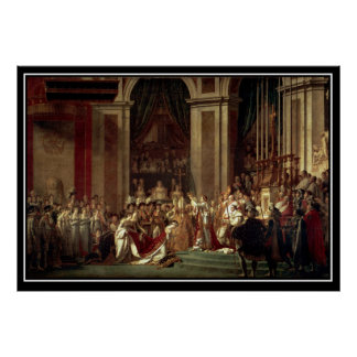 Napoleon's Coronation as emperor of the french Poster