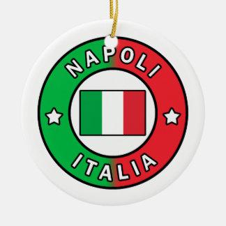 Napoli Italia Ceramic Ornament