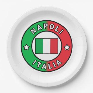 Napoli Italia Paper Plate