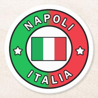 Napoli Italia Round Paper Coaster