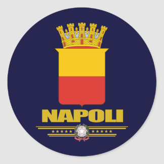 Napoli (Naples) Classic Round Sticker
