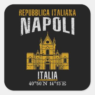 Napoli Square Sticker