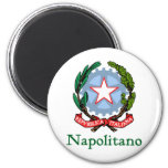 Napolitano Republic of Italy Fridge Magnet
