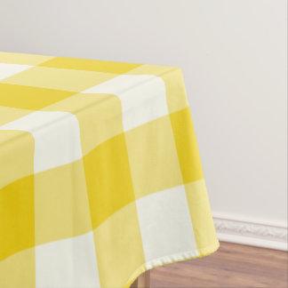 Nappe jaune citron de contrôle de guingan/de