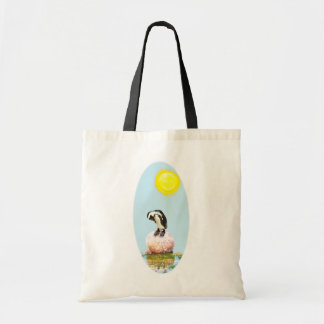 Napping Penguin in the Sun Tote Bag