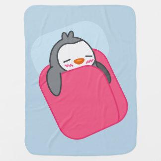 Napping Penguin Kids Blanket Stroller Blankets