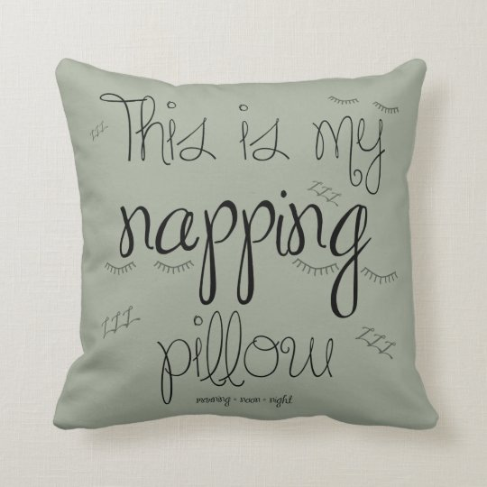 Napping Pillow