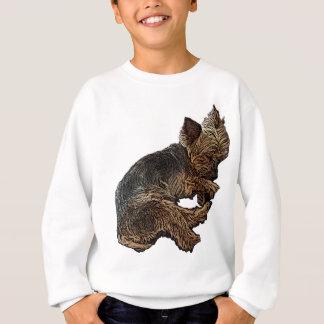 Napping Yorkie Sweatshirt