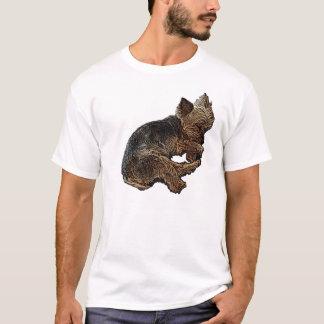 Napping Yorkie T-Shirt
