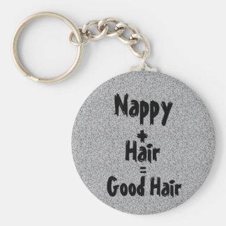 Nappy Good Hair Keychain