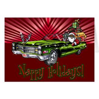 Nappy Holidays! Card