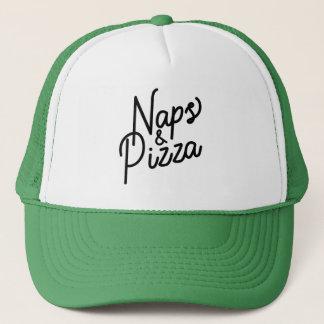 Naps & Pizza Trucker Hat