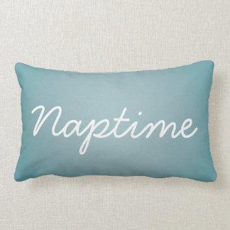 Naptime Blue Lumbar Pillow
