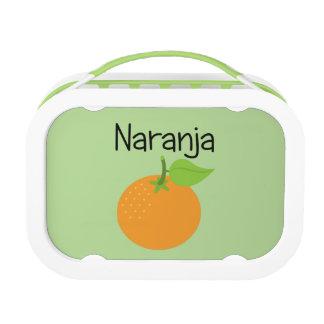 Naranja (Orange) Lunch Box