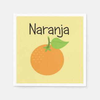 Naranja (Orange) Napkin