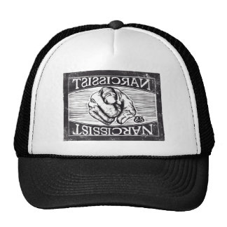 Narcissist (The Empty Self): Digitized woodcut Trucker Hat
